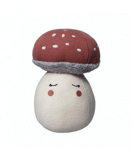 Culbuto Champignon en coton biologique