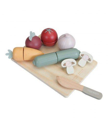 Légumes en bois à découper (mymy)