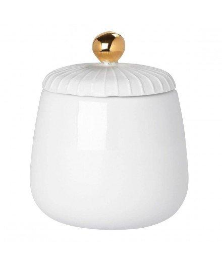 Boite en céramique bouton doré - Petit format