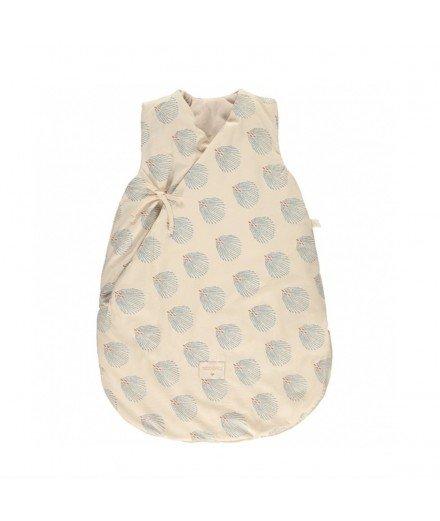 Gigoteuse d'hiver 6-18 mois - Gatsby crème (à faire)