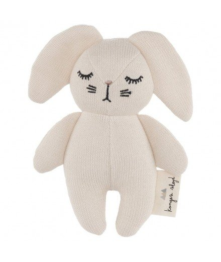 Hochet lapin en coton biologique