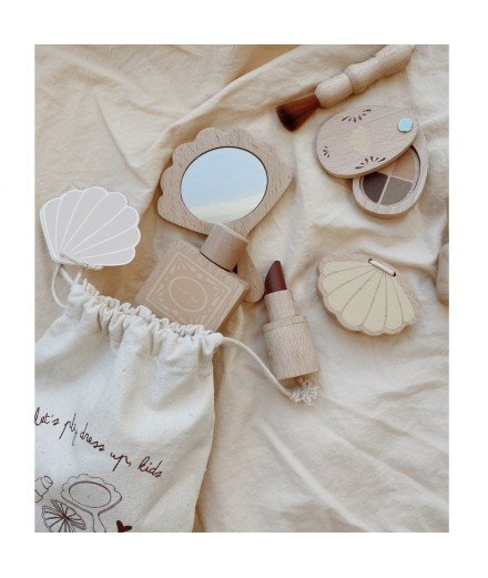 Kit de maquillage en bois