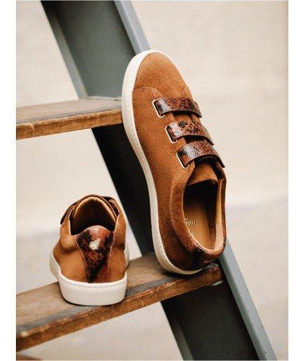 Sneakers La Scotchée - Tabac