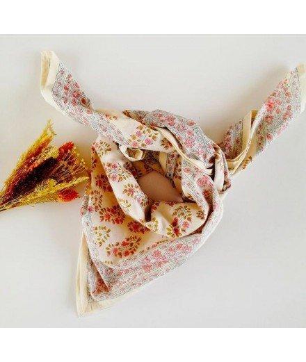 Foulard fleuri femme et enfant - Primrose