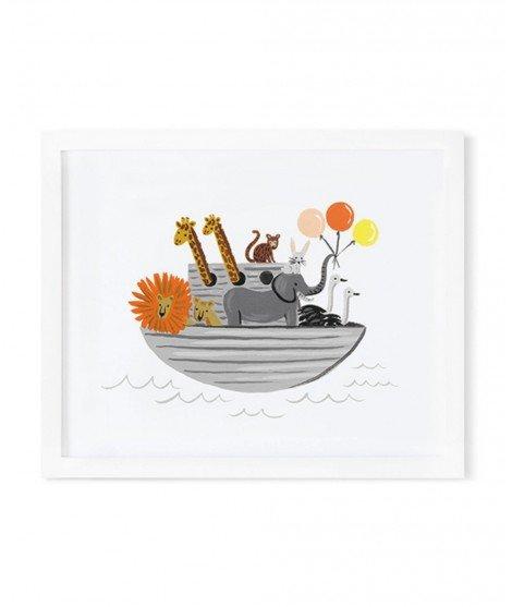 Affiche Arche de Noé - 20 x 25 cm