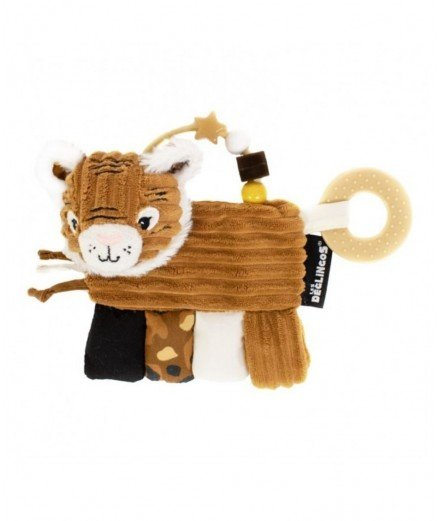 Hochet d'activités - spéculos le tigre (LM)