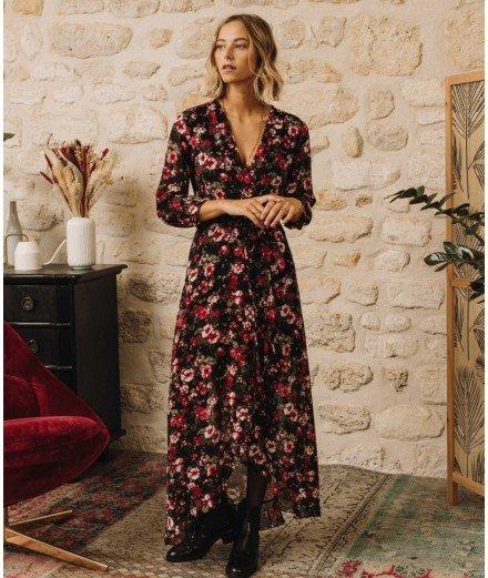 Robe cache-coeur - Bardot