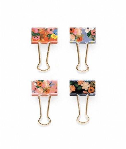 Set de 8 Pince-notes - Lively Floral