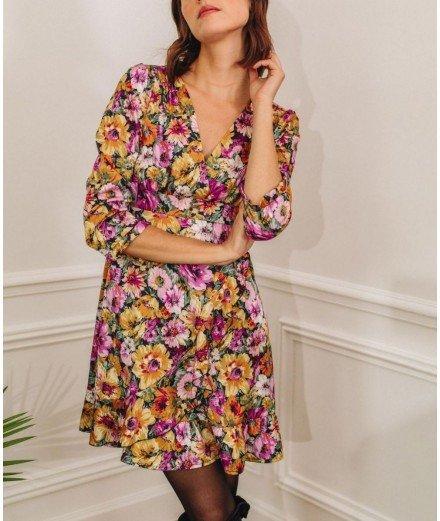 Robe à fleurs - Tanguy (LM)