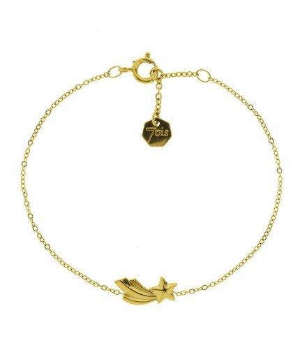 Bracelet en acier inoxydable - Etoile filante