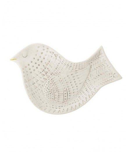 Plat en céramique Oiseau