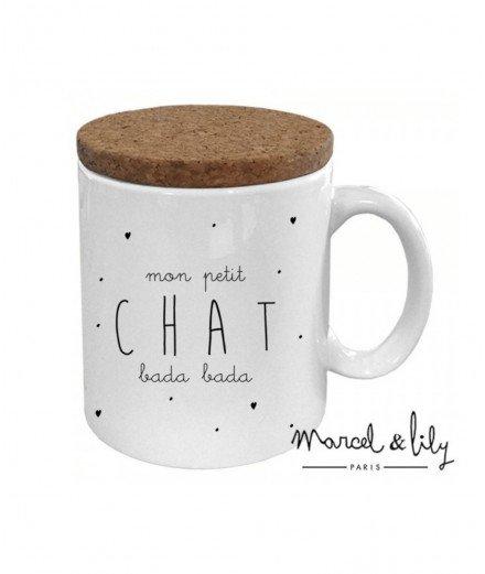"Mug ""Mon Petit Chat"""