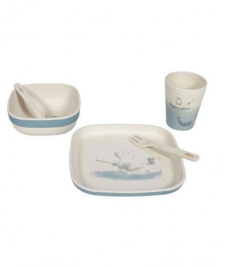 Set de vaisselle en bambou - Polar (LM)