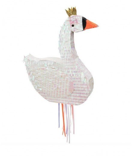 Pinata personnalisable - cygne (LM lorient)