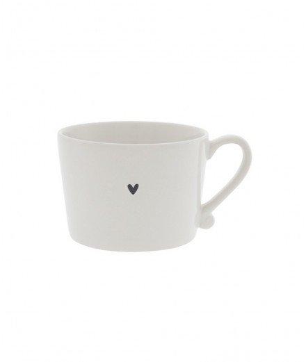 Mug en porcelaine Coeur - Petit format