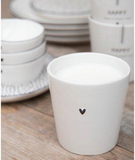 Tasse en céramique - coeur