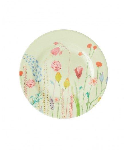 Petite assiette en mélamine - summer flowers