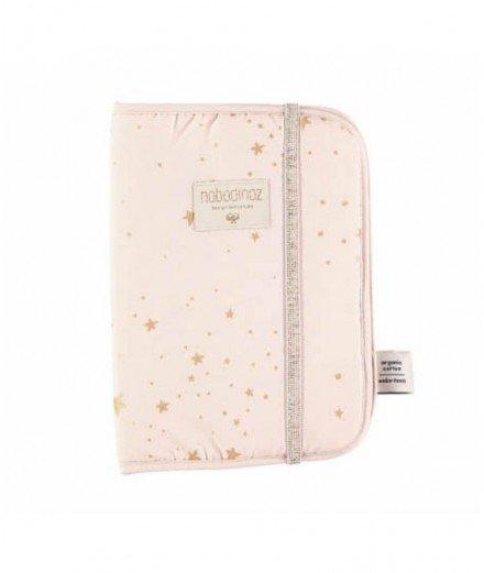 Protège carnet de santé Gold Stella - Dream Pink (LM vannes)