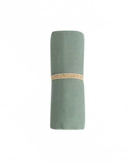 Lange en coton biologique - Eden Green (LM vannes)