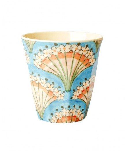 Gobelet en mélamine - Fleurs de Paon (lmvannes)