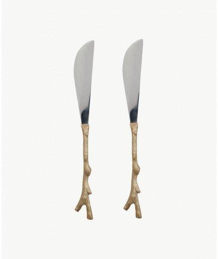 Set de 2 couteaux à beurre Twiggy