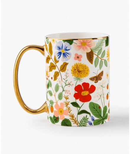 Mug en porcelaine - Strawberry fields