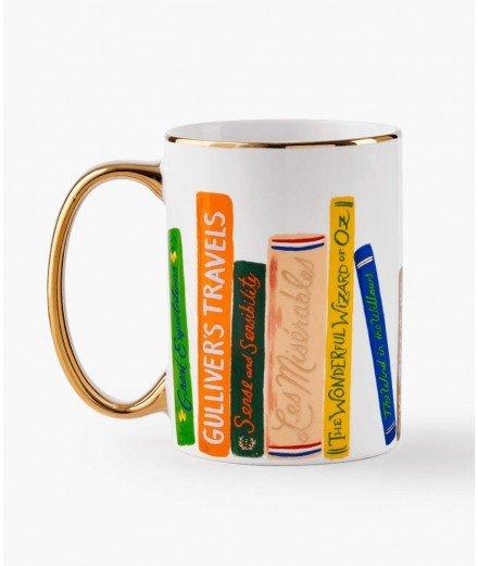 Mug en porcelaine - Livres
