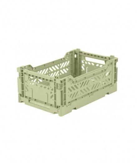 Caisse pliable petit format - Vert