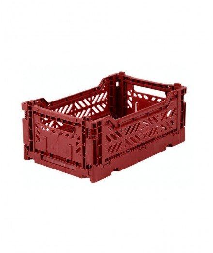 Caisse pliable petit format - Brique