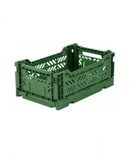Caisse pliable petit format - Vert foncé