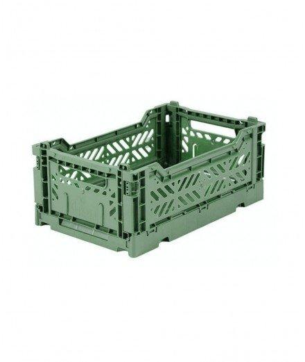 Caisse pliable petit format - Amande