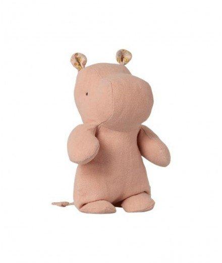 Peluche Hippopotame - Rose