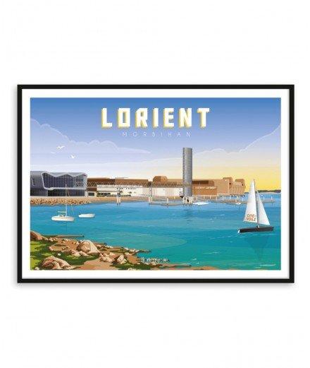 Affiche A2 - Lorient