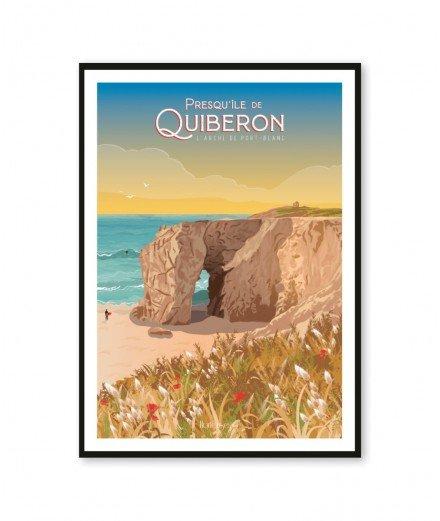 Affiche A2 - La Presqu'Ile de Quiberon, L'arche