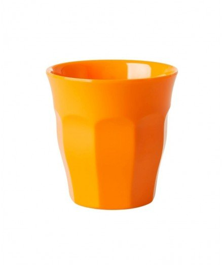 Gobelet melamine medium - Orange fluo (malo)