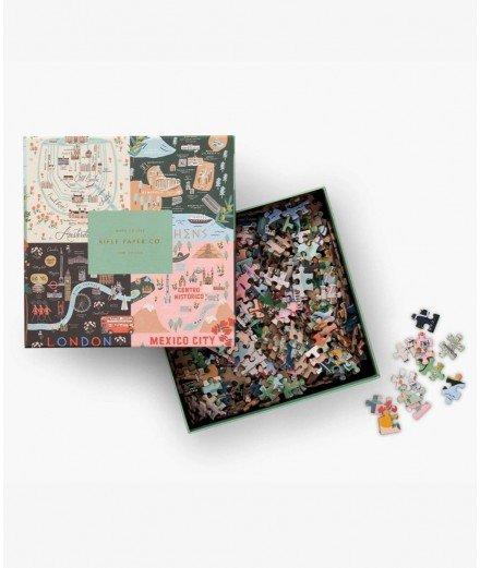 Puzzle 500 pièces - Maps (LM VAnnes)