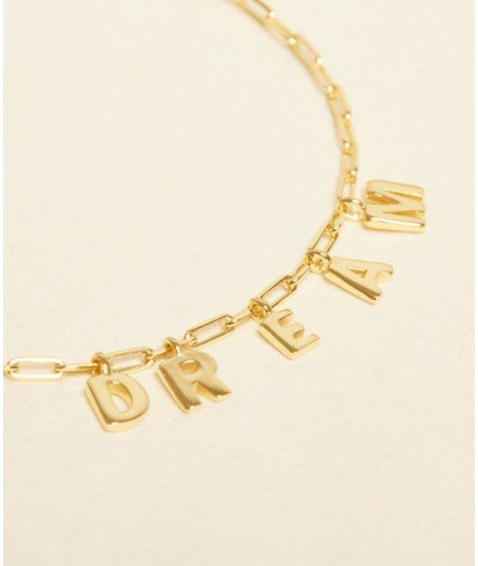 Collier doré à l'or fin - DREAM