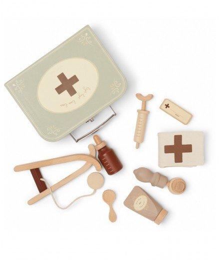 Valise de Docteur - jouets en bois