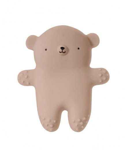 Hochet de dentition en hévéa - Ours