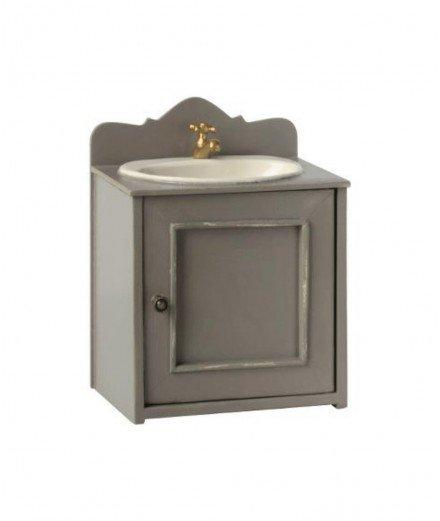 Meuble avec lavabo pour maison de poupées - Maileg