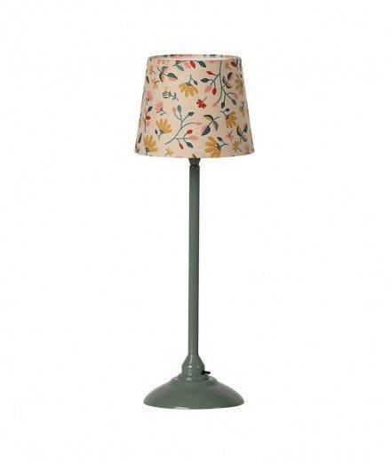 Lampe sur pied pour maison de poupées - Vert foncé