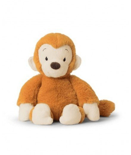 Peluche ultra douce - Singe orange