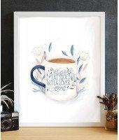 Affiche A4 - Tea lover