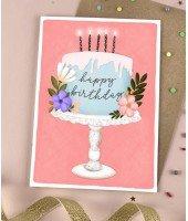 Carte d'anniversaire - Gâteau