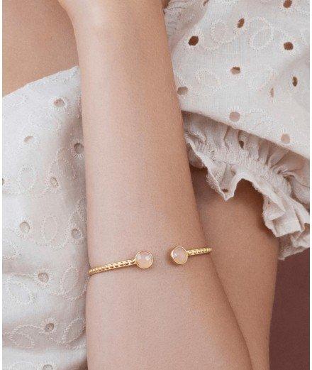 Bracelet Jonc Miya - Brique