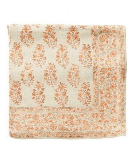 Foulard fleuri femme et enfant - Primrose orange