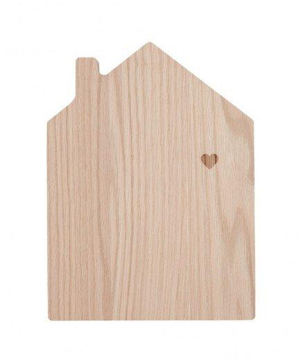 Planche à découper en bois - Maison