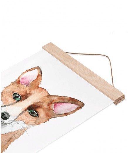 Cadre suspendu en bois - A4