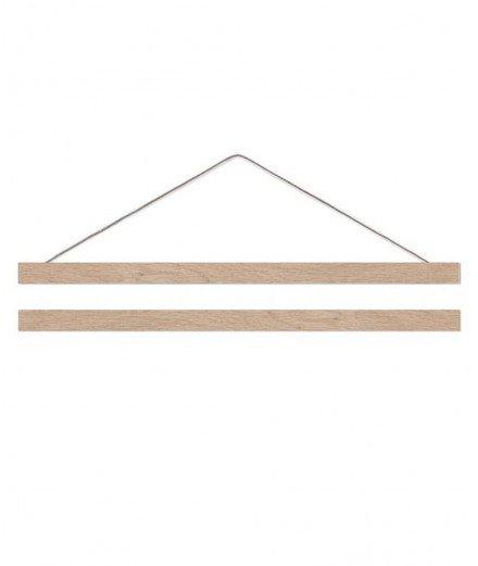 Cadre suspendu en bois - A2