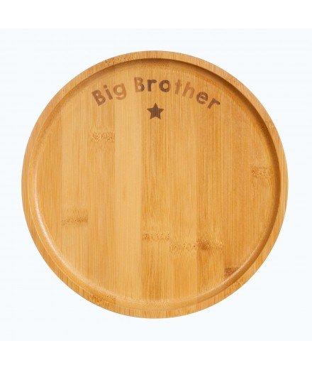 Grande assiette en bambou - Big Brother